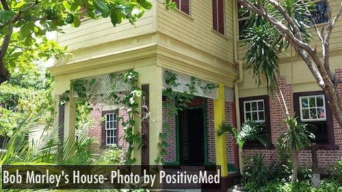 bob marley house entrance