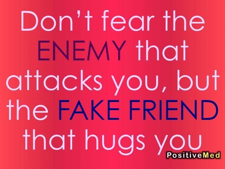 how to detect a fake friend