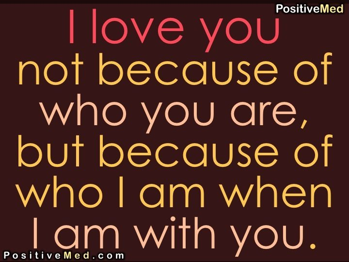 I Love Quotes Because : the man you are because i love you lyrics i love you because