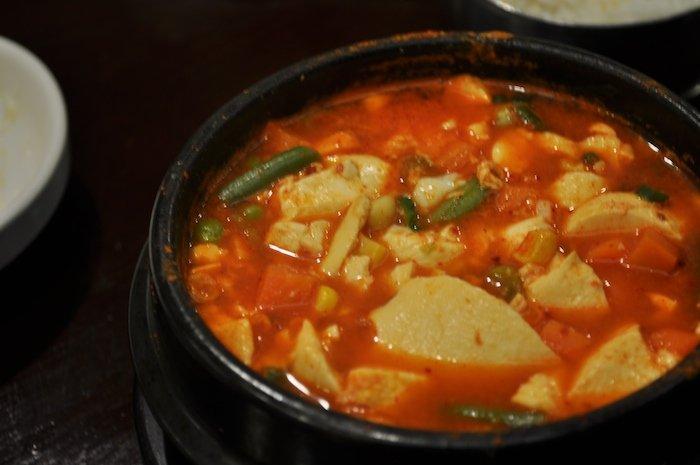 spicy bibimbap