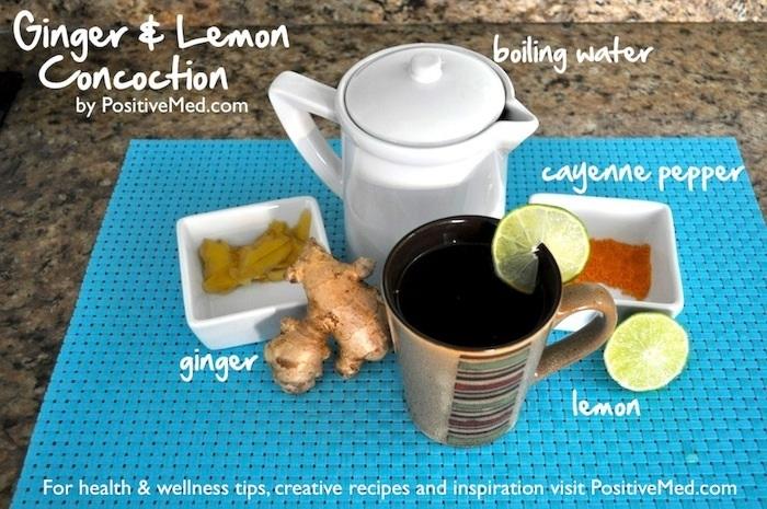 ginger lemon concoction