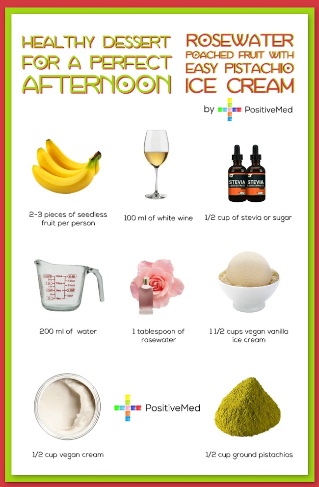 Healthy dessert for a perfect afternoon 1