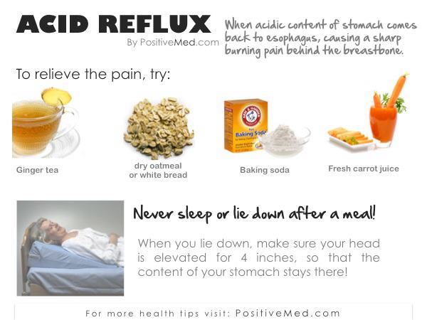 What Natural Foods Help Acid Reflux
