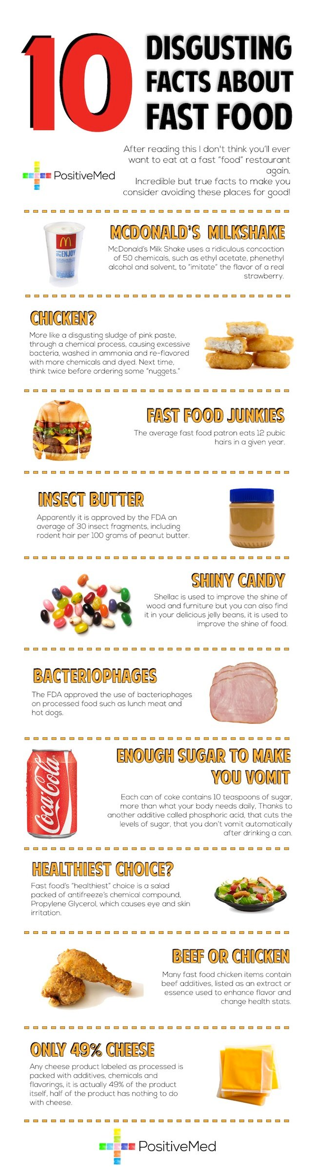 disgusting facts about fast food 1