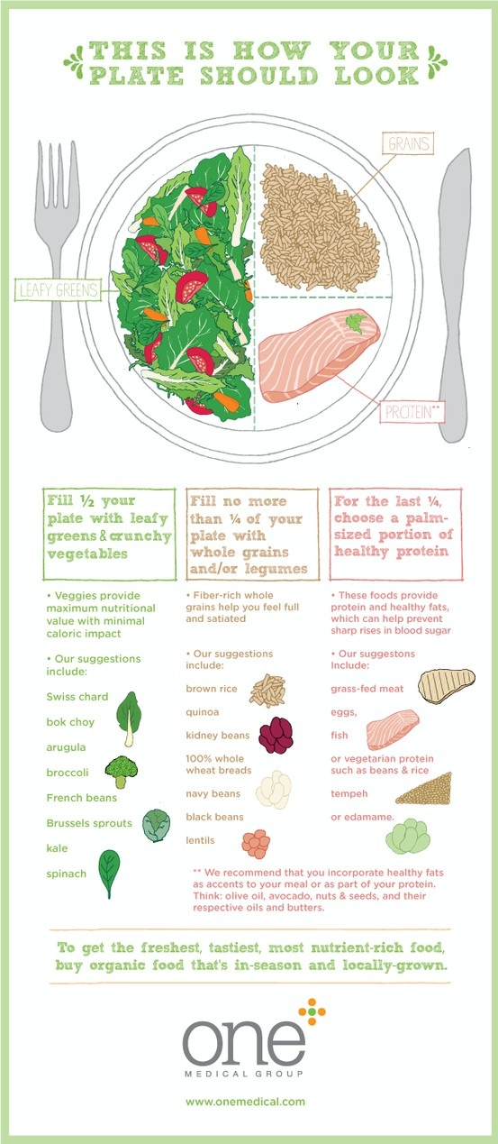 how your plate should look