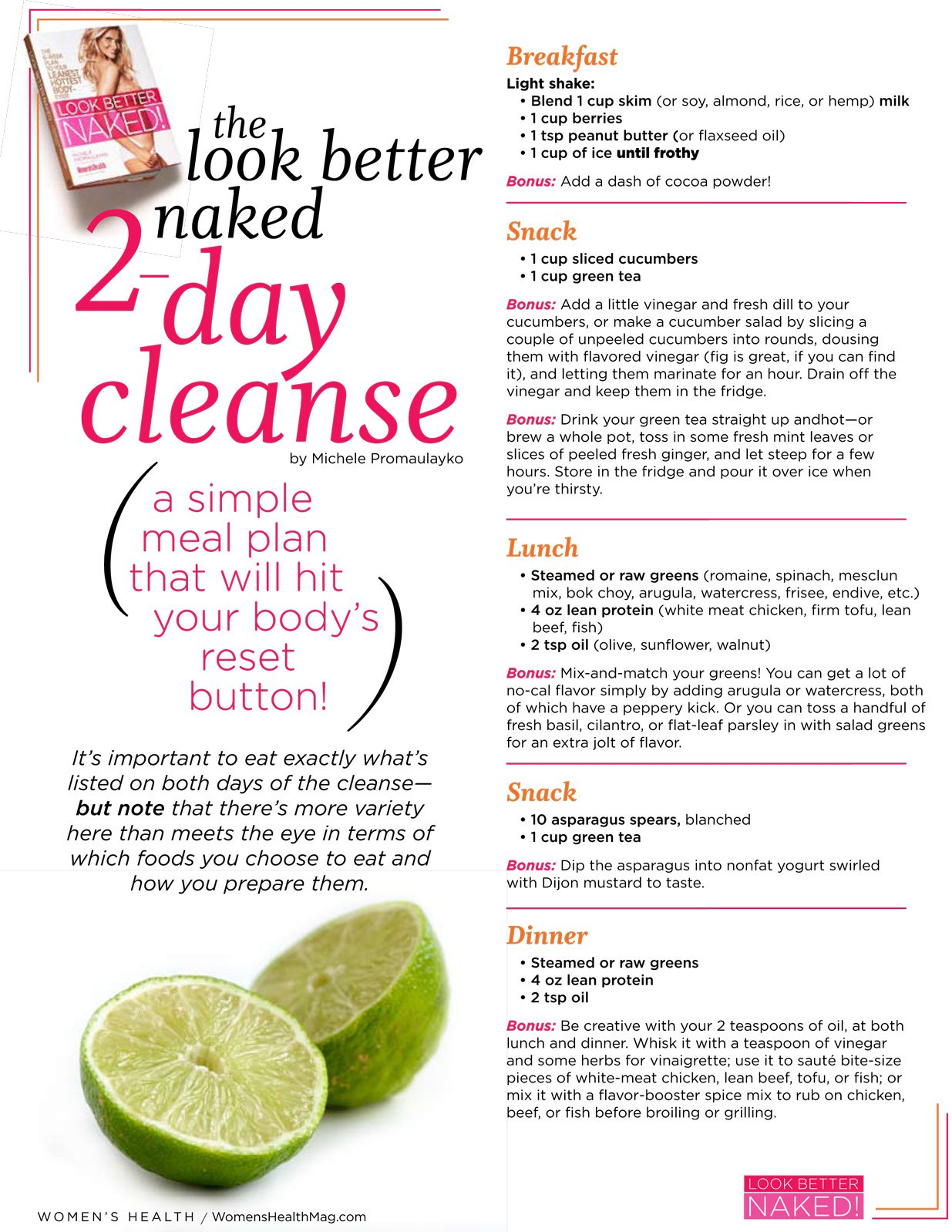 Look Better 2 Days Cleanse - PositiveMed