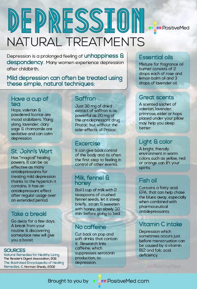 Major Depression Natural Treatments