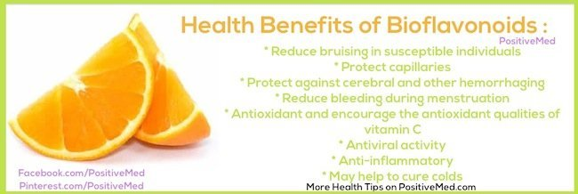 health benefits of bioflavonoids