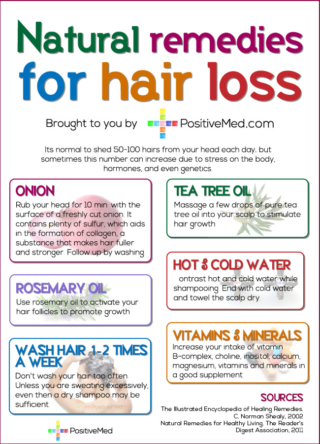 5 Causes and Natural Cures for Women's Hair Loss
