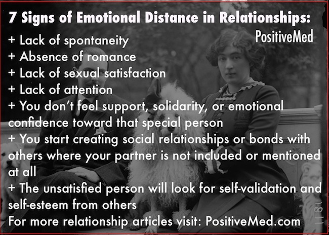 emotional distance