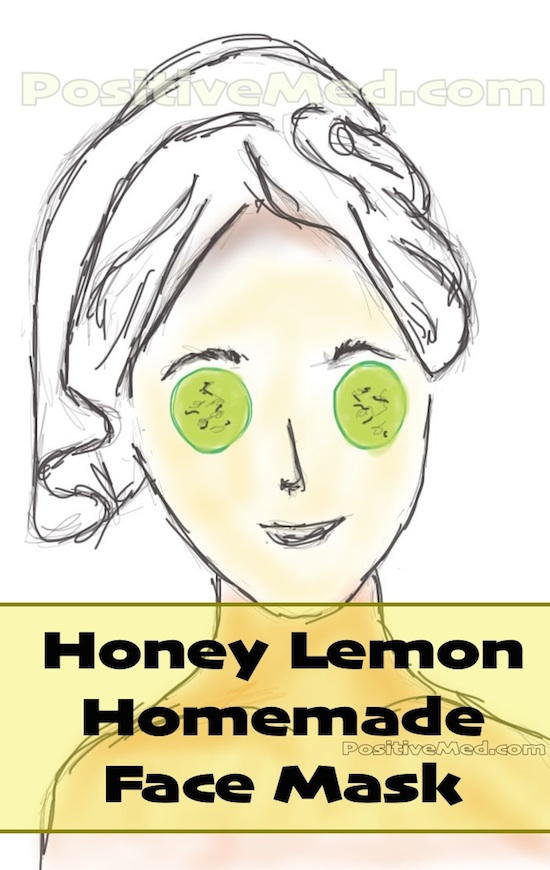 honey lemon homemade skin mask