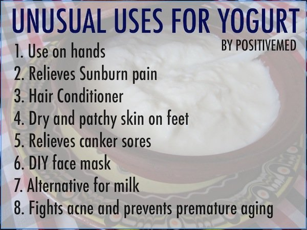 unusual uses for yogurt