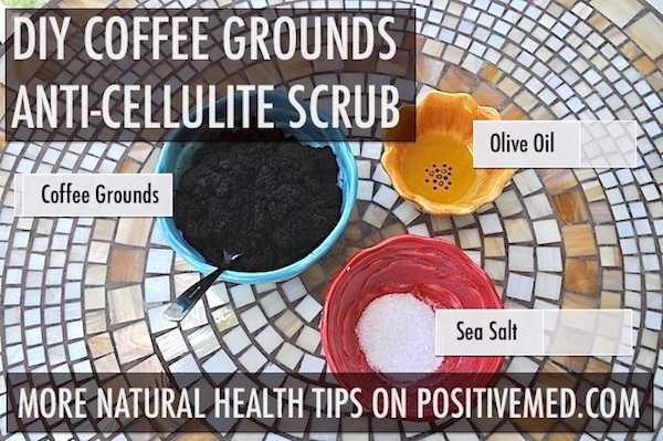 coffee ground for cellulite