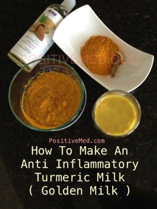 how to make an Anti inflammatory turmeric milk