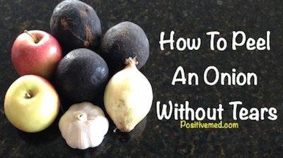 peel an onion