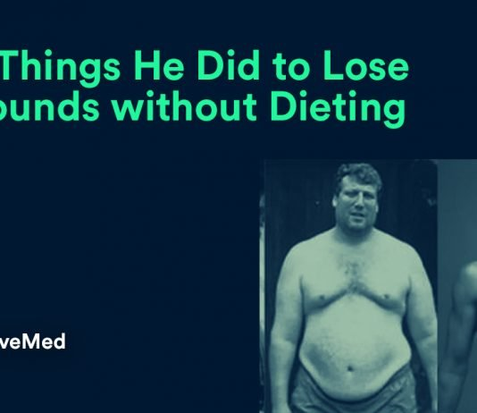 The 7 Things He Did to Lose 220 Pounds without Dieting.