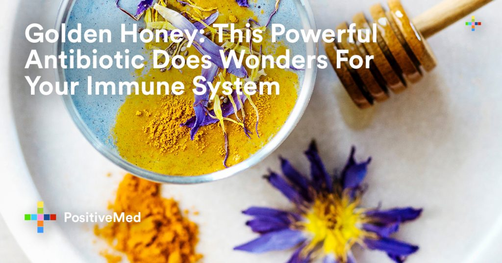 Golden Honey This Powerful Antibiotic Does Wonders For Your Immune System