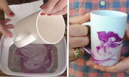 She Dips A Mug Into A Bowl With THIS And Gets Perfect Christmas Gift