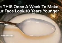 Use THIS Once A Week To Make Your Face Look 10 Years Younger.