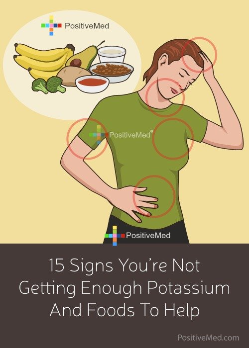 15 Signs You're Not Getting Enough Potassium And Foods To Help
