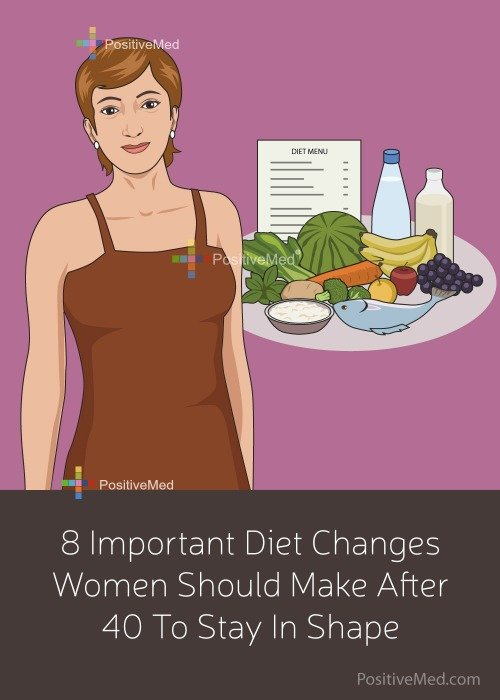 8 Important Diet Changes Women Should Make After 40 To Stay In Shape