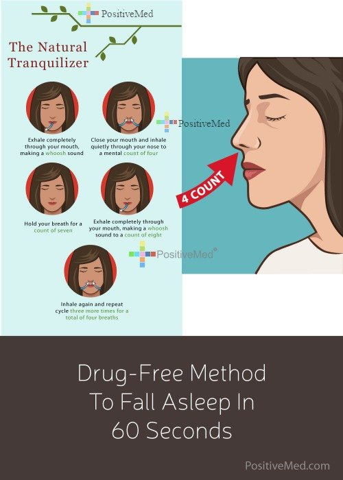 Drug-Free Method To Fall Asleep In 60 Seconds