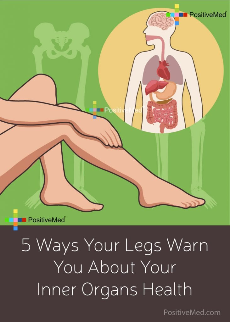5 Ways Your Legs Warn You About Your Inner Organs Health