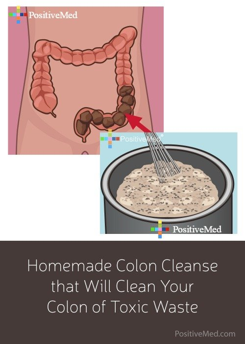 homemade colon cleanse that will clean your colon of toxic waste positivemed. Black Bedroom Furniture Sets. Home Design Ideas