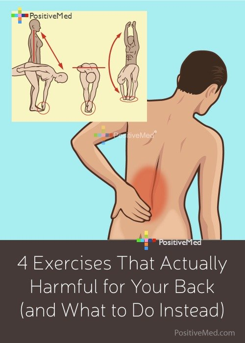 4 Exercises That Actually Harmful for Your Back (and What to Do Instead)