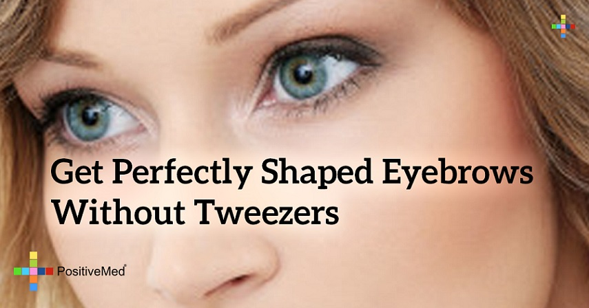 Get Perfectly Shaped Eyebrows Without Tweezers