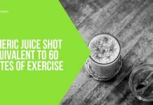 Turmeric Juice Shot Is Equivalent to 60 Minutes of Exercise