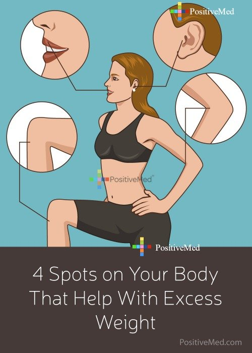 4 Spots on Your Body That Help With Excess Weight