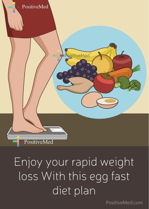 Enjoy Your Rapid Weight Loss With This Egg Fast Diet Plan