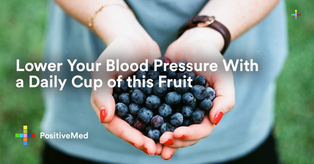 Lower Your Blood Pressure With a Daily Cup of this Fruit