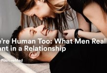 We're Human Too What Men Really Want in a Relationship.