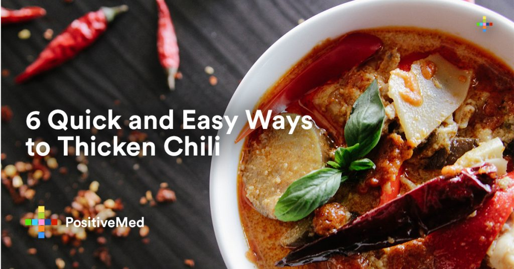 6 Quick and Easy Ways to Thicken Chili.