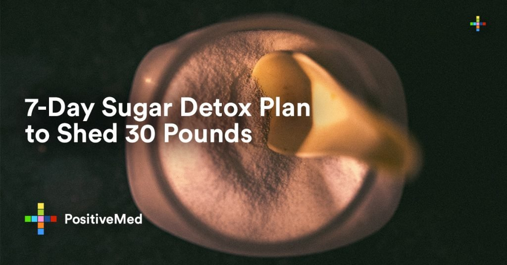 7-Day Sugar Detox Plan to Shed 30 Pounds