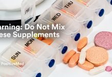 Warning Do Not Mix These Supplements