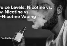 E-Juice Levels Nicotine vs. Low-Nicotine vs. No-Nicotine Vaping