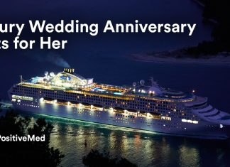 Luxury Wedding Anniversary Gifts for Her.