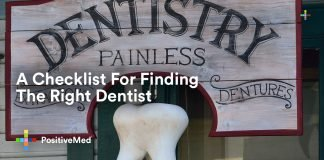 A Checklist For Finding The Right Dentist