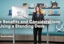The Benefits and Considerations of Using a Standing Desk.