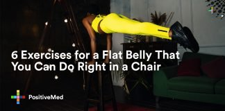 6 Exercises for a Flat Belly That You Can Do Right in a Chair.