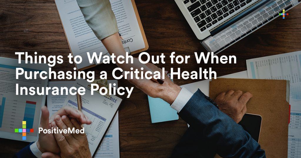 Things to Watch Out for When Purchasing a Critical Health Insurance Policy