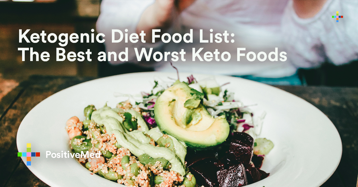 Ketogenic Diet Food List The Best and Worst Keto Foods