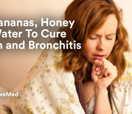 Mix Bananas, Honey and Water To Cure Cough and Bronchitis.