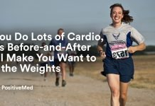 If You Do Lots of Cardio, This Before-and-After Will Make You Want to Hit the Weights