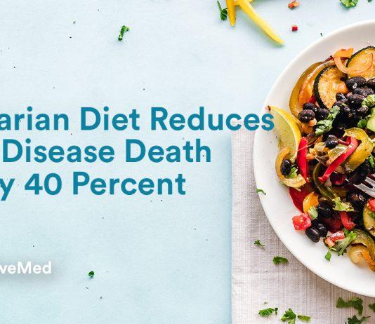 Vegetarian Diet Reduces Heart Disease Death Risk By 40 Percent