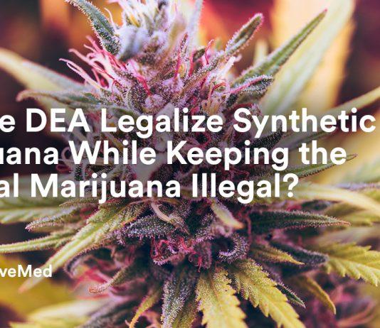 Did the DEA Legalize Synthetic Marijuana While Keeping the Natural Marijuana Illegal