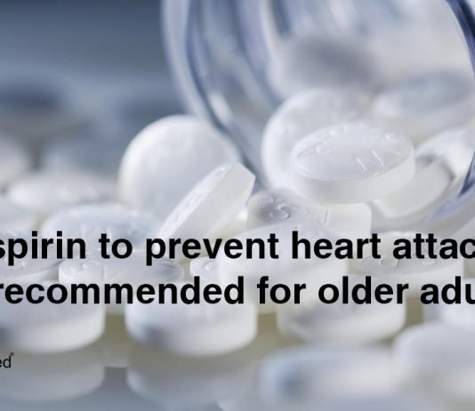 Daily Aspirin to Prevent Heart Attacks no Longer Recommended for Older Adults